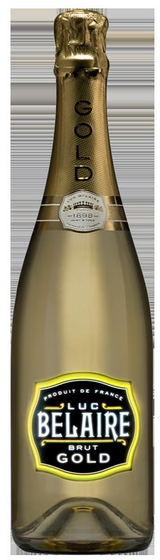Šampanské Luc Belaire brut gold fantome